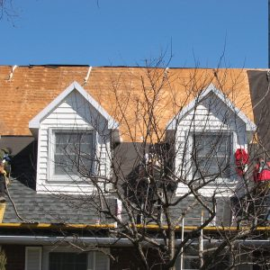 Steep grading roofing systems