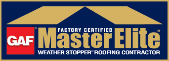 Master Elite Certified Logo - roofing contractors
